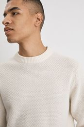 Tobias Sweater Filippa almond white