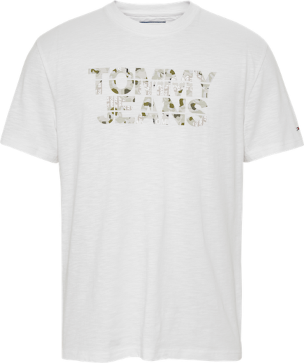 Tommy Jeans Camo Ground Logo Tee