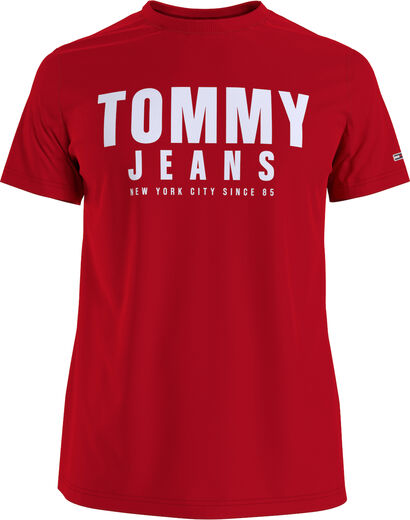 Center Chest Tommy Graphic -t-paita