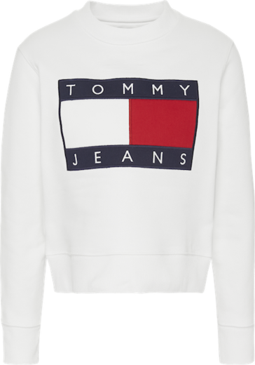 Tommy Jeans Flag Crew