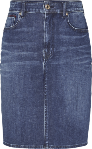 Tommy Jeans High Waist Denim Skirt