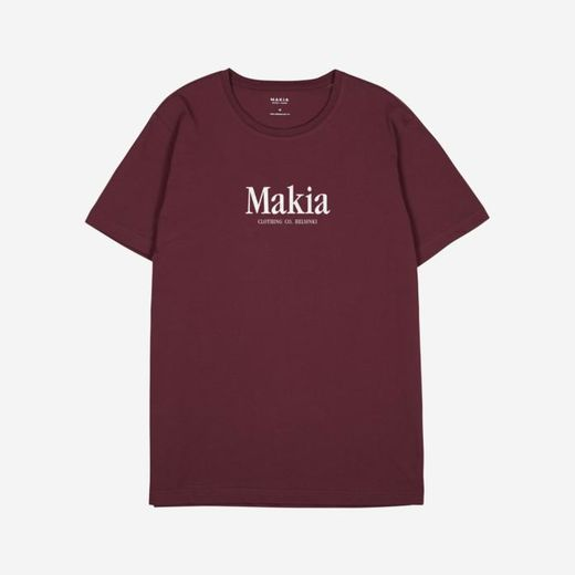 Makia Strait t-shirt port