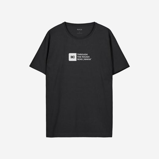 Makia Flint t-shirt black