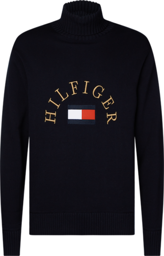 Tommy Hilfiger Flag Roll Neck