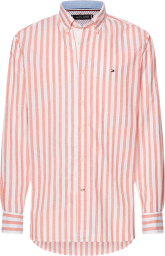 Tommy Hilfiger Cotton Linen Multistripe Shirt