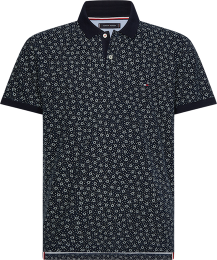 Tommy Hilfiger Buoy Print Regular Polo