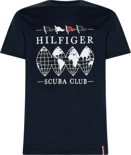 Tommy Hilfiger Scuba Club Relaxed Fit Tee