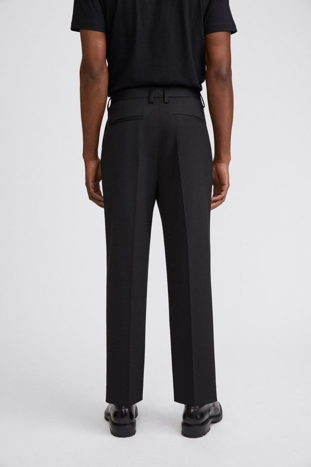 Filippa K M. Samson Wool Trousers Black