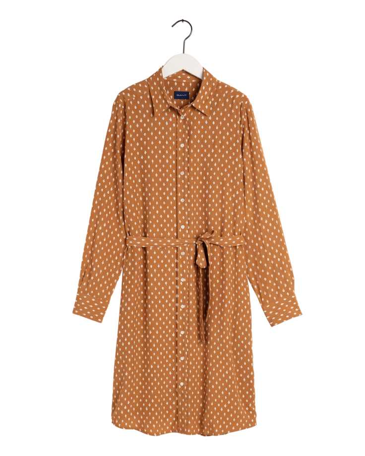 Desert Jewel Print Shirt Dress