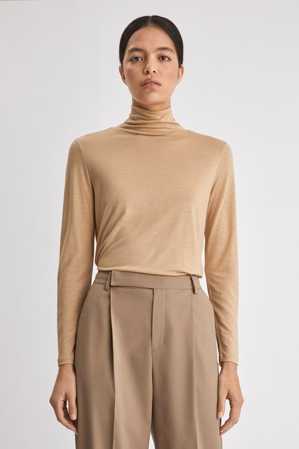 Tencel Polo Neck - poolo